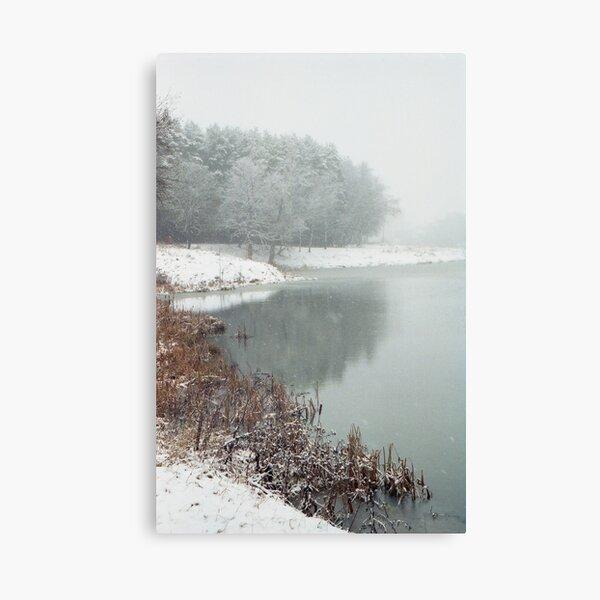 Winter Haiku Canvas Print