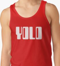 'YOLO' by Chillee Wilson Tank Top