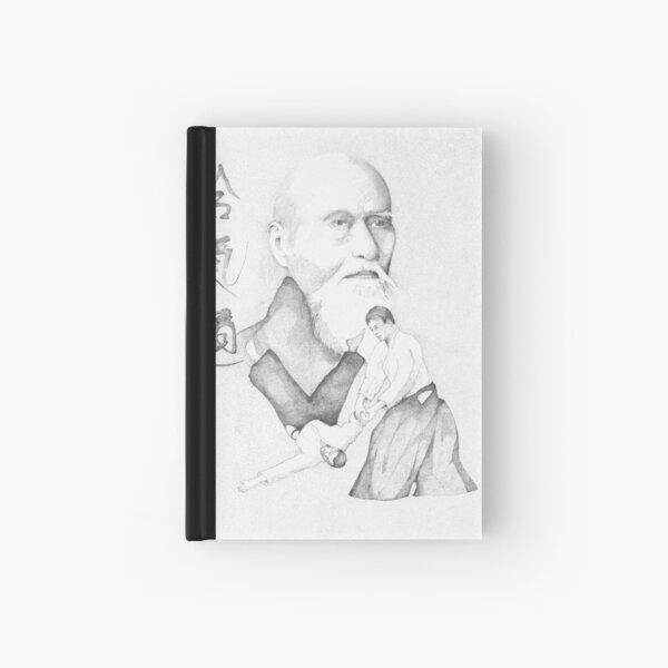 Aikido's Founder, Morihei Ueshiba Hardcover Journal
