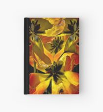 A Fantasy Tangle of Aging Tulips Hardcover Journal