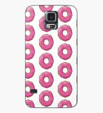 Pink Iced Donut Case/Skin for Samsung Galaxy