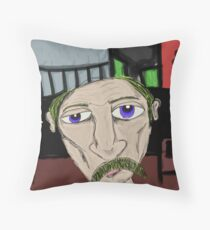The Homeless Throw Pillow
