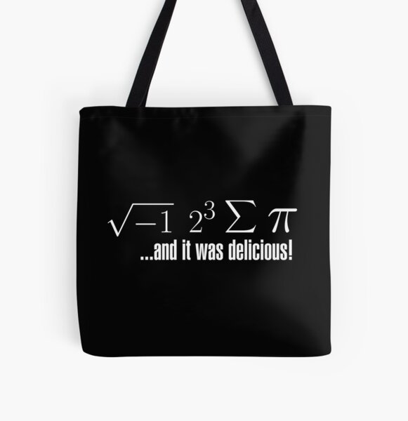I Ate Some Pie... All Over Print Tote Bag