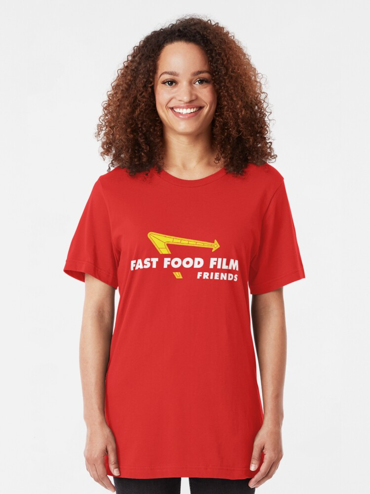 Alternate view of Fast Food Film Friends | Out-N-In Slim Fit T-Shirt