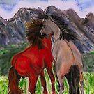 Mustangs by Dawn B Davies-McIninch