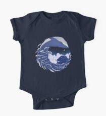The great whale  One Piece - Short Sleeve