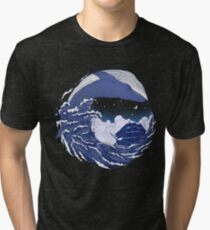 The great whale  Tri-blend T-Shirt