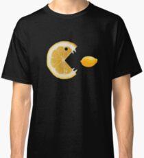Funny Lemon Eats Lemon Classic T-Shirt