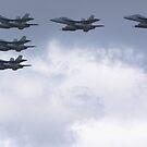 RAAF F/A18F Super Hornets by Stecar