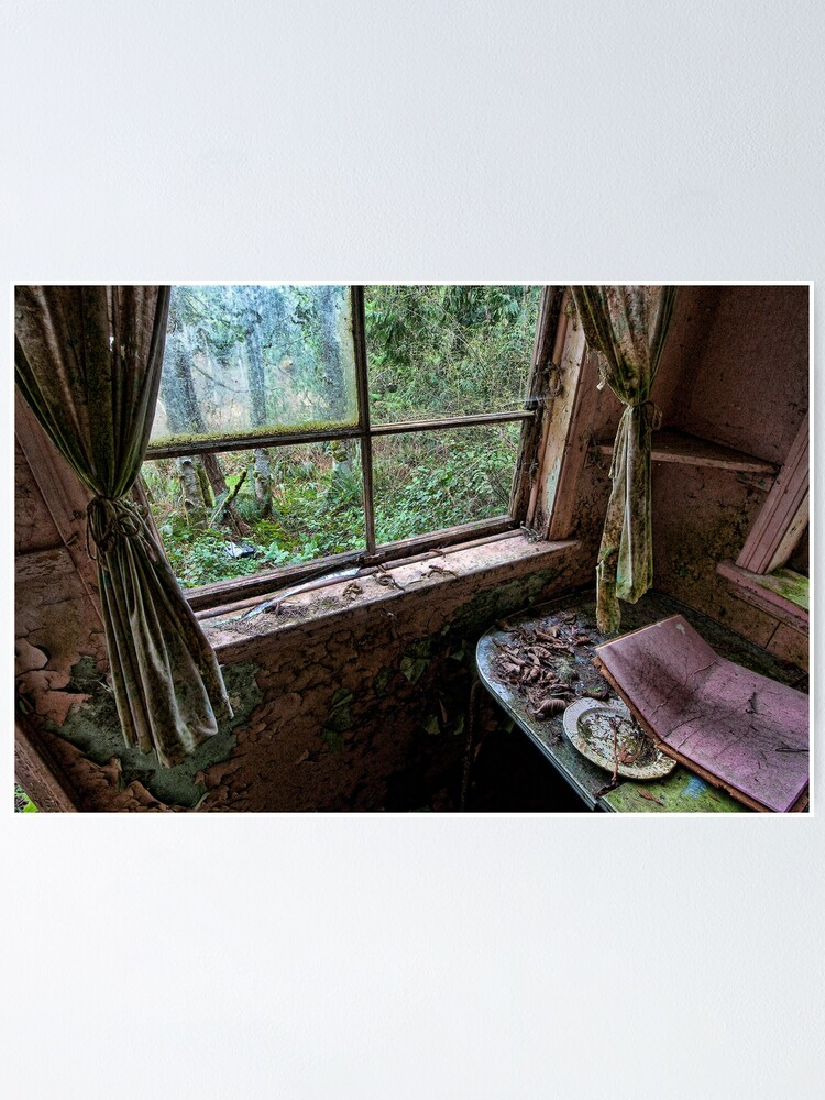Alternate view of Shack in the Woods, Window Poster