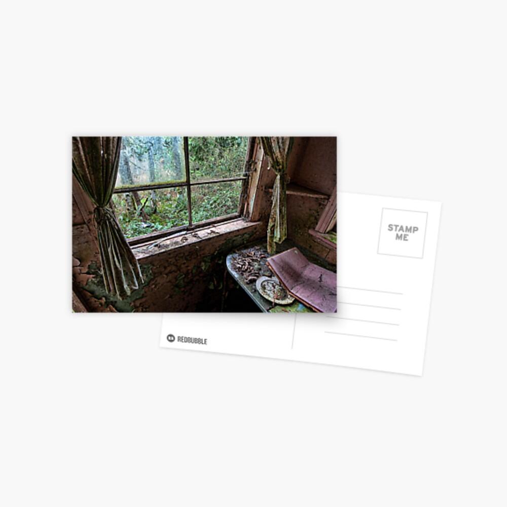 Shack in the Woods, Window Postcard