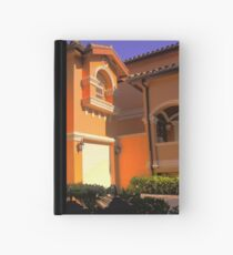 Entry to Mediterranean style residence in South Florida Hardcover Journal