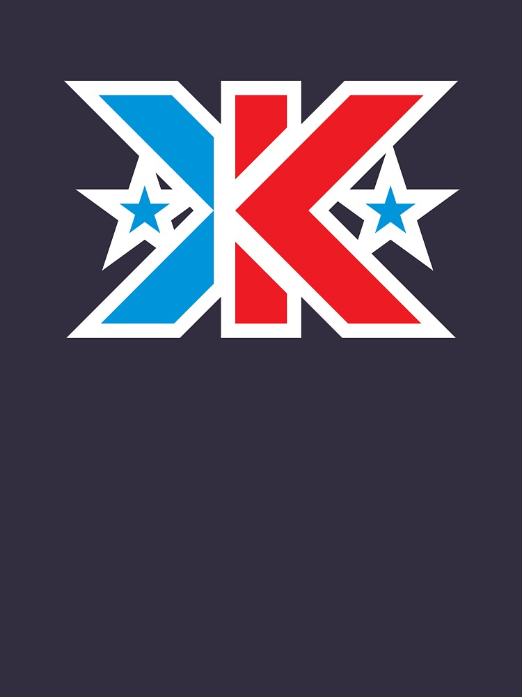 Kinetic Superhero Letter K by DOODL