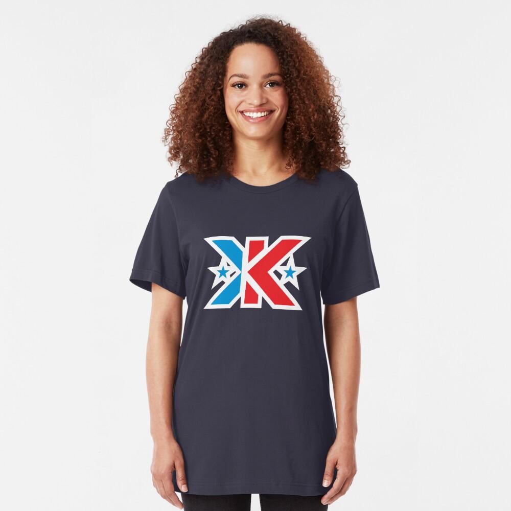 Kinetic Superhero Letter K Slim Fit T-Shirt