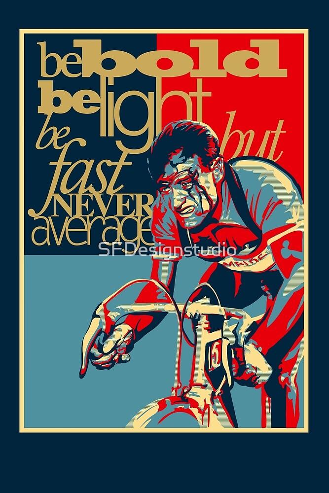 «Retro Ciclismo Imprimir cartel duro como clavos» de SFDesignstudio