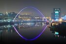 Millennium Bridge, Gateshead by David Lewins