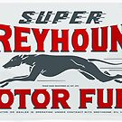 Super Greyhound Motor Fuel by htrdesigns