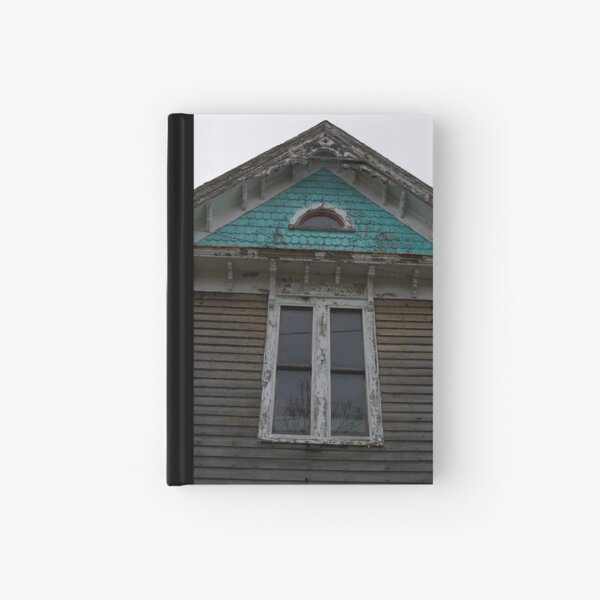 Abandoned Beauty Window Hardcover Journal