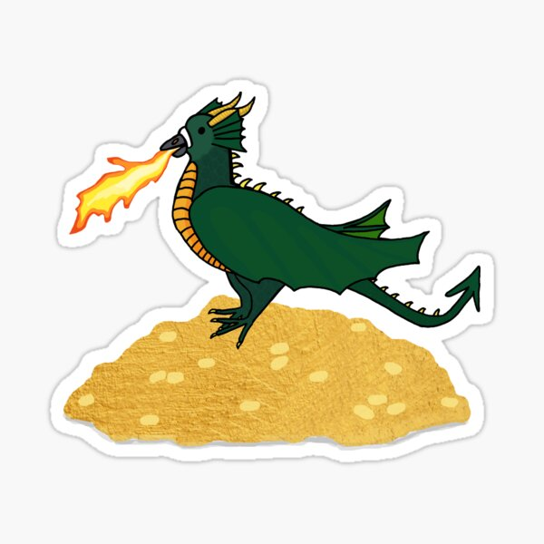Fred the Pigeon Dragon Coosplay Sticker Sticker