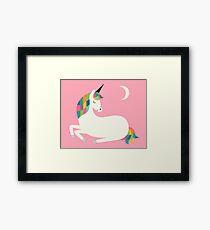 Unicorn Happiness Framed Print