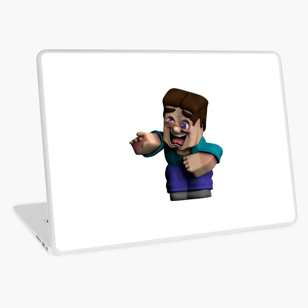 Minecraft Steve Meme Laptop Skin By Boomerusa Redbubble