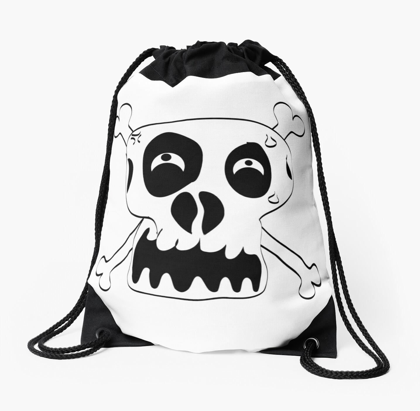 Cartoon Skull and Cross Bones by Chillee Wilson by ChilleeWilson