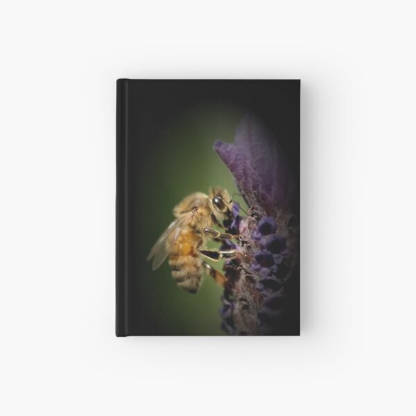 Lavendar and the Bee Hardcover Journal