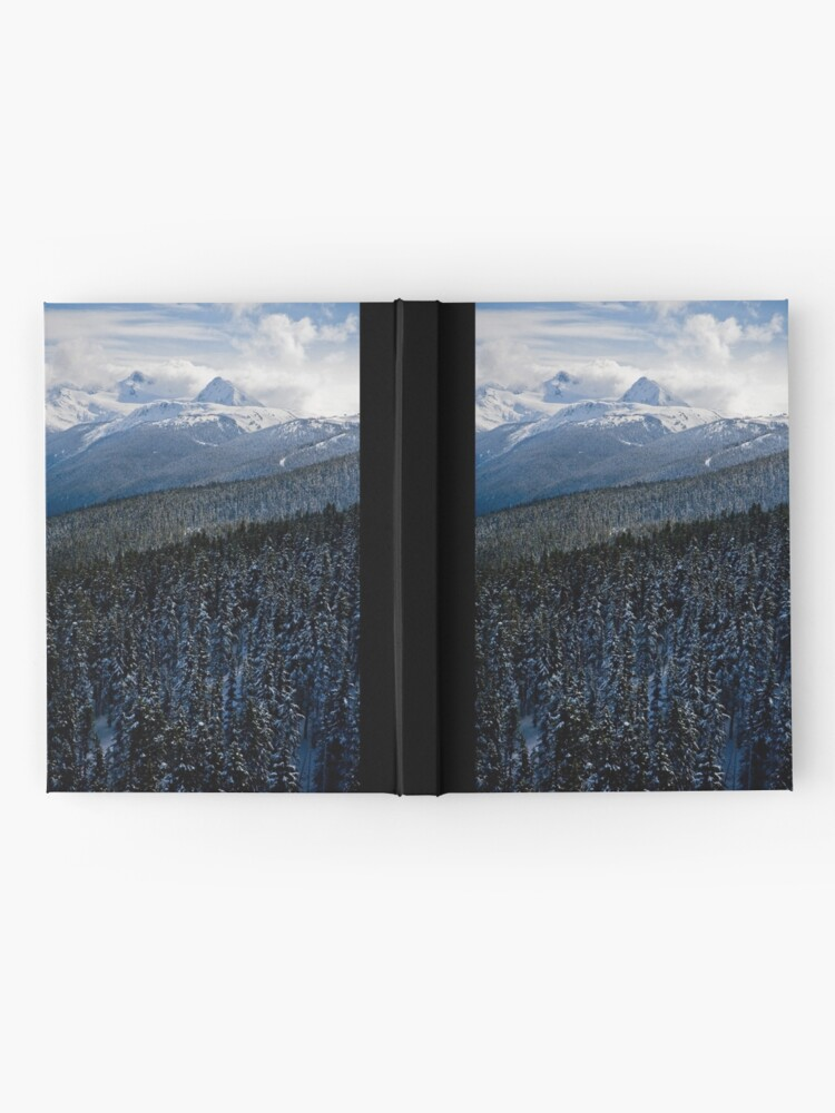 Alternate view of View from Whistler Mountain Hardcover Journal
