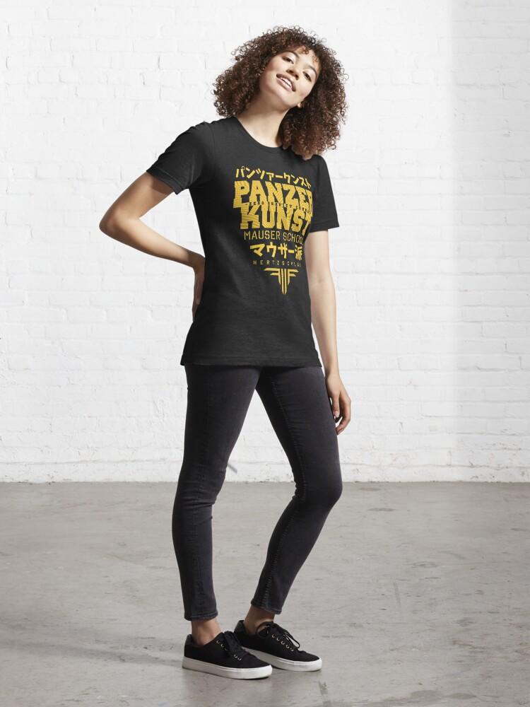 Alternate view of Panzer Kunst Essential T-Shirt