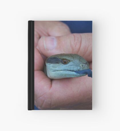 ~ Blue Tongue ~ Hardcover Journal