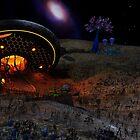 Crash Site on Vega Prime by Michael Beers