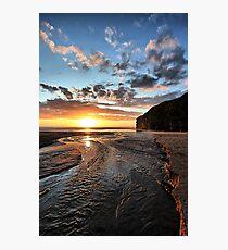 Strand River Flow - Ballybunion Photographic Print