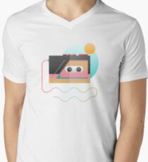 Summer Rhythm Men's V-Neck T-Shirt