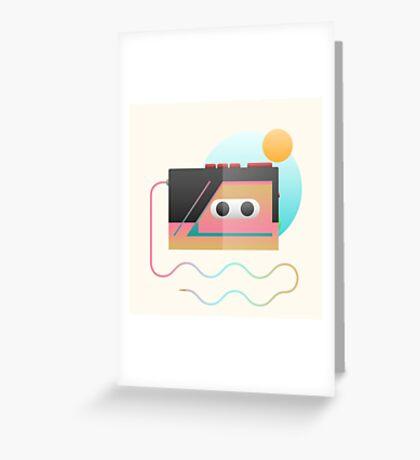 Summer Rhythm Greeting Card