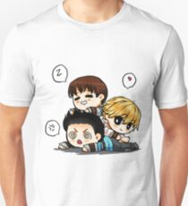 Mighty trio - thominewt Unisex T-Shirt