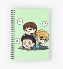 Mighty trio - thominewt Spiral Notebook