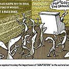 dancing weasles by Jerel Baker