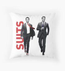 Suits Throw Pillow