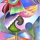 Rooster 2 by Karin Zeller