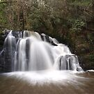 Upper Lillydale Falls I by Sarah Howarth [ Photography ]