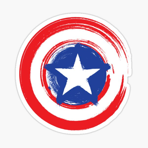AMERICAN CAPTAIN Sticker