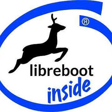 Libreboot Inside (Text) by hamgammon