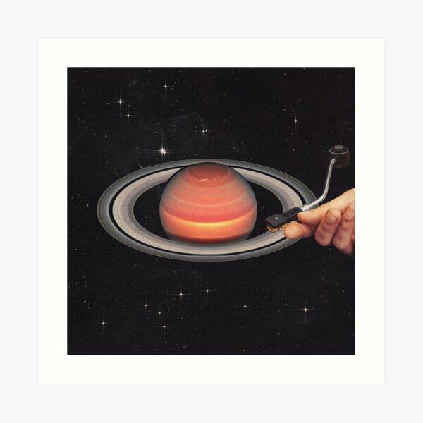 Galactic Dj Art Print