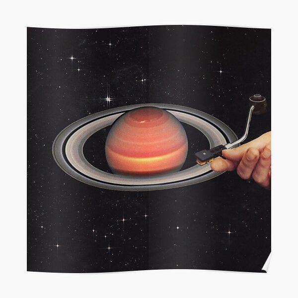 Galactic Dj Poster