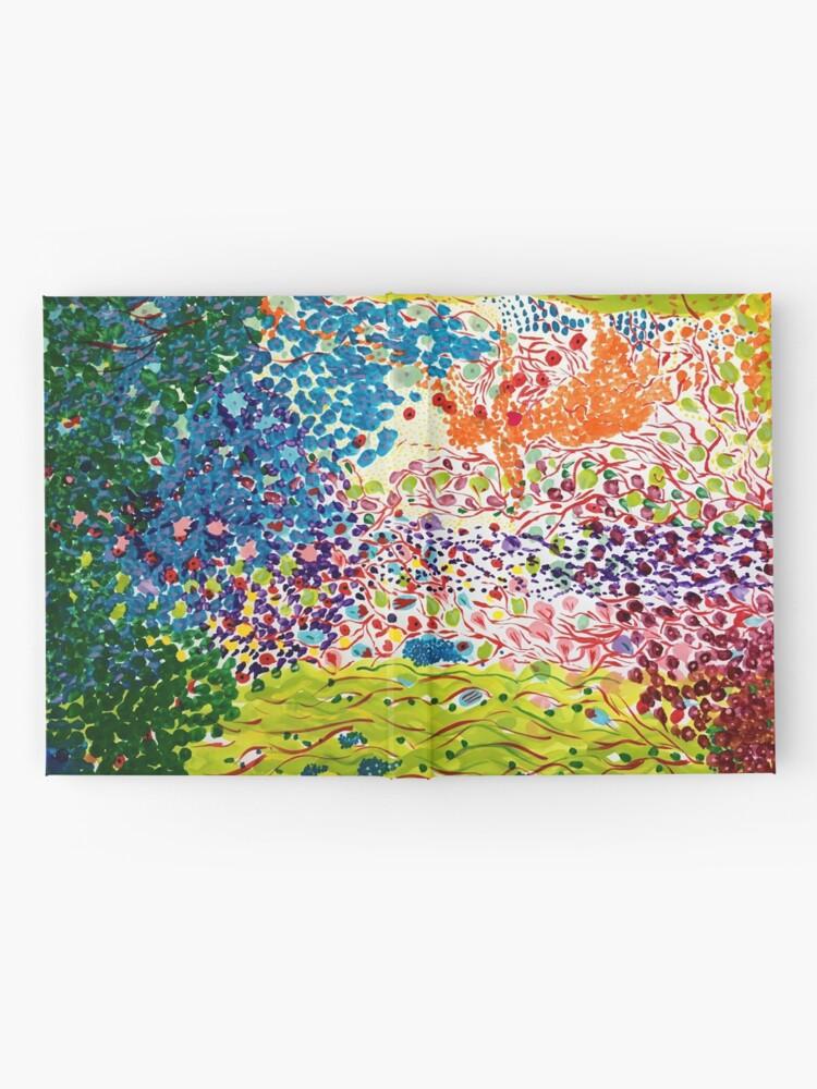 Alternate view of Siren Spring - landscape Hardcover Journal