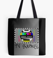 TV Sucks! by Chillee Wilson Tote Bag