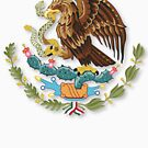 Mexico Independence Eagle Snake Design Cartoon Mexican Hispanic Latino - Great Gift by BullQuacky