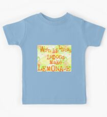 When life throws lemons... Kids Tee