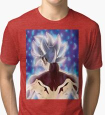 best fan art goku ultra instinct Tri-blend T-Shirt