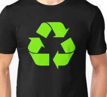 Recycle Symbol by Chillee Wilson Unisex T-Shirt